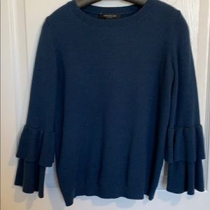 Ann Taylor Navy Sweater Size XS Petite